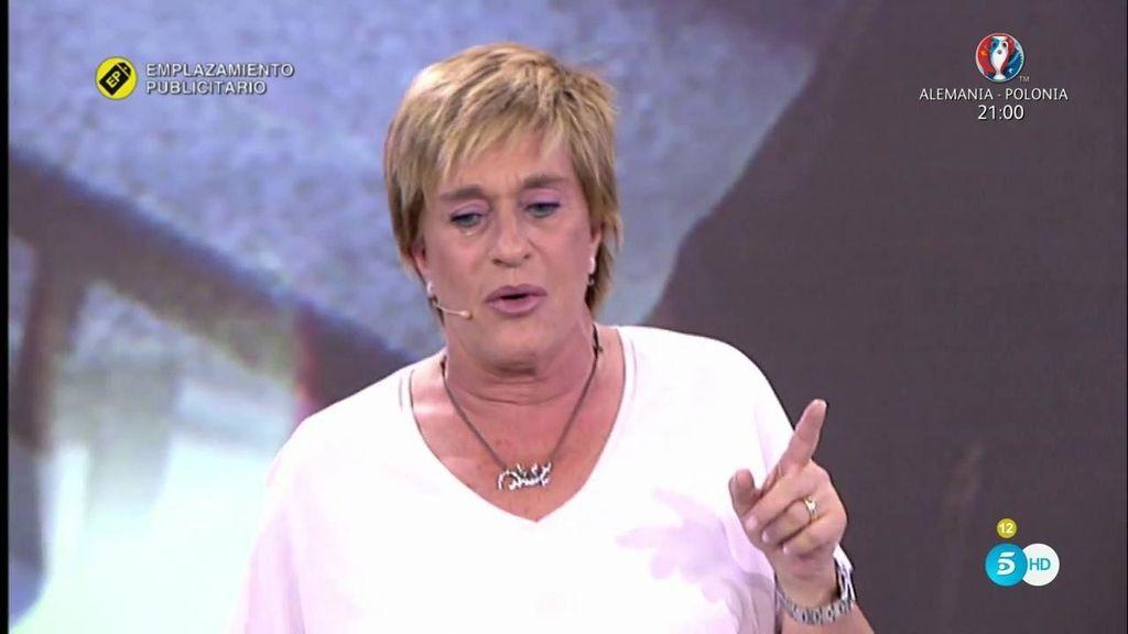 Chelo Gª Cortés se derrumba tras las críticas a su 'Diario Ché'