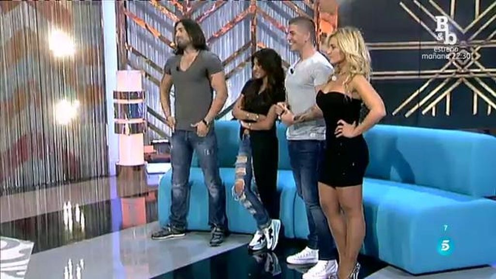 Pelayo y Natalia eligen a Reche y Chari para el cambio de look VIP