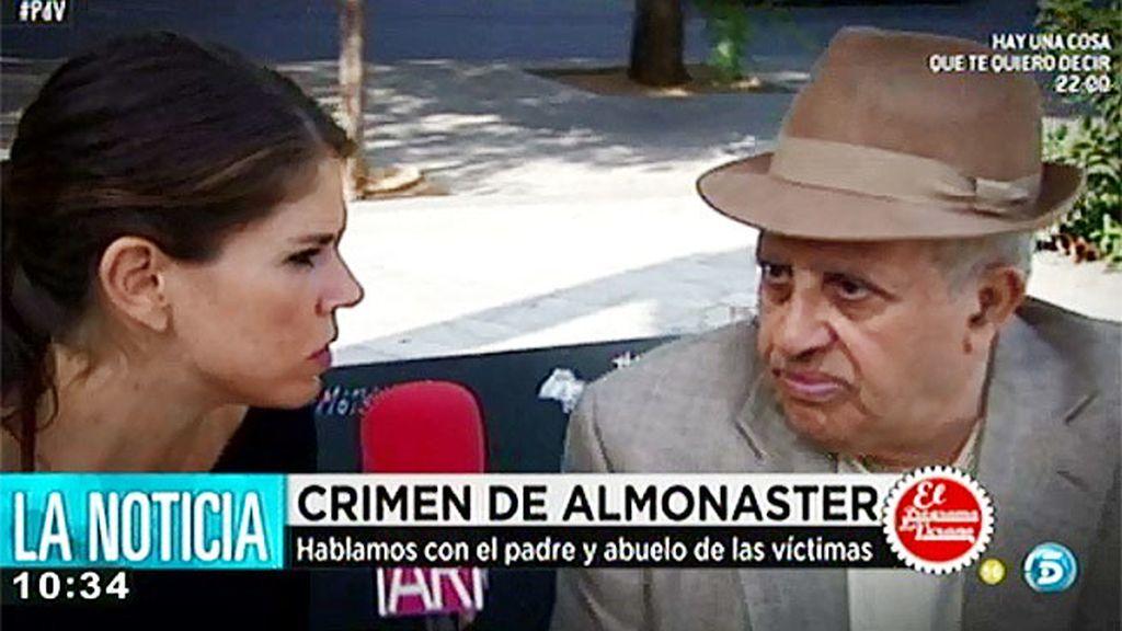 """El padre y abuelo del crimen de Almonaster: """"Él me dijo que mi hija se había ido con un señor rico"""""""