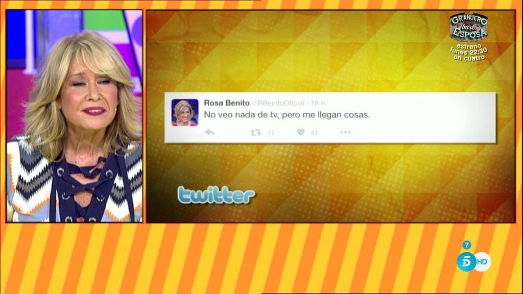 Rosa Benito utiliza Twitter para lanzar flechas de fuego a los colaboradores