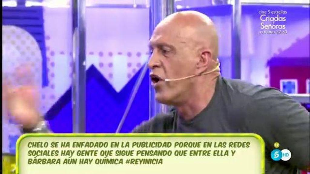 """Kiko Matamoros, a Chelo: """"Hoy vienes con cara de estreñida"""""""