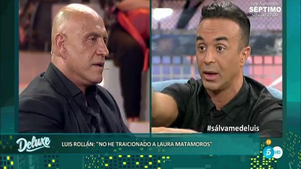 """Luis Rollán: """"Traicionar a Laura Matamoros hubiera sido contar cosas de ella"""""""