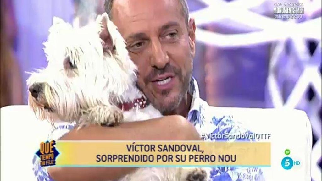 """Víctor Sandoval: """"No quiero que ningún hombre me acompañe más, tengo a mi perro"""""""