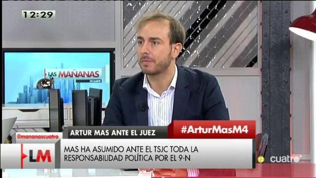 """Javier Dorado: """"Lo que debería hacer Mas es exigir la independencia de la justicia"""""""
