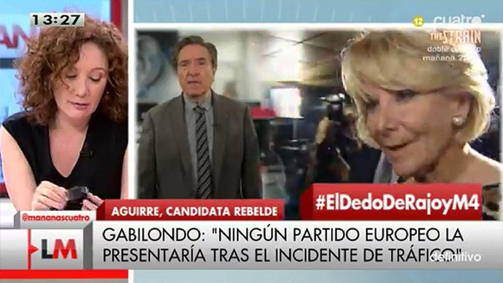 """Gabilondo: """"Por un puñado de votos, Mariano Rajoy se humilla ante Aguirre"""""""