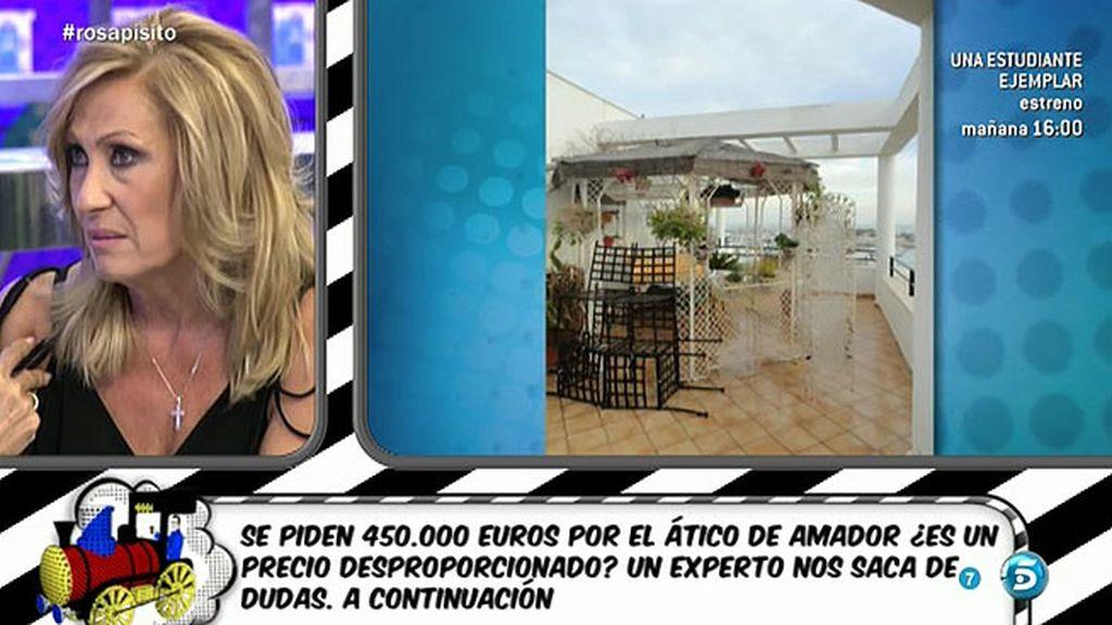 Rosa no quiere creer que Amador Mohedano hiciese las fotos del ático de Chipiona