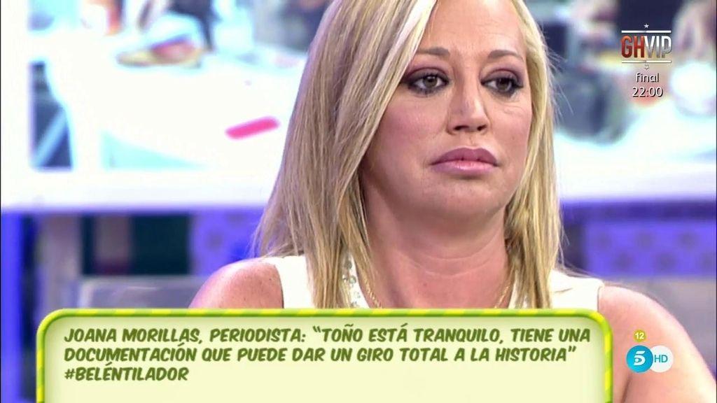 """Belén Esteban, a Toño Sanchís: """"Parece que estás callado y eres el que más habla"""""""