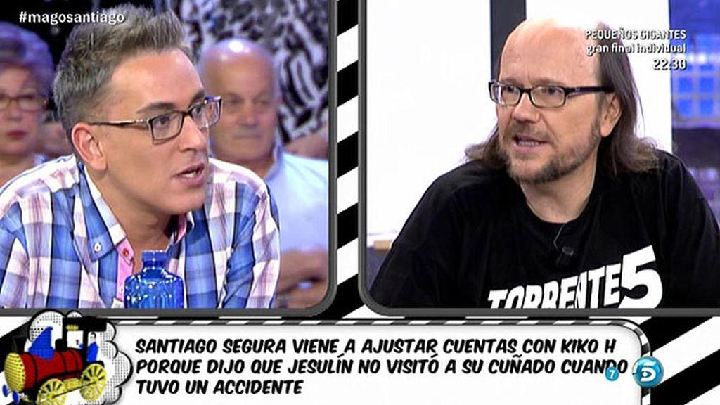 Santiago Segura y Kiko H. resuelven su rencilla sobre Jesulín de Ubrique