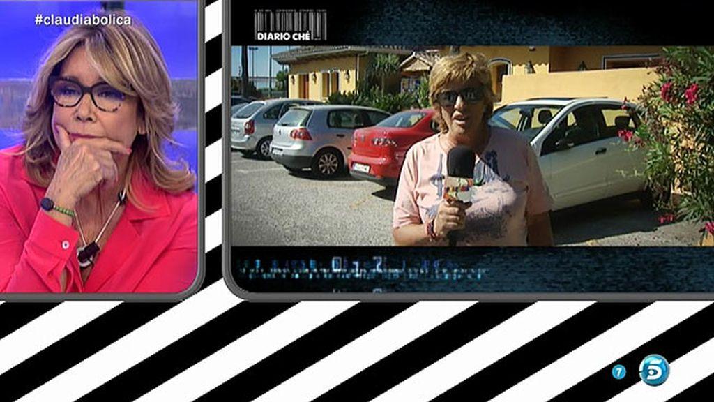 Claudia llora en 'Diario Che'