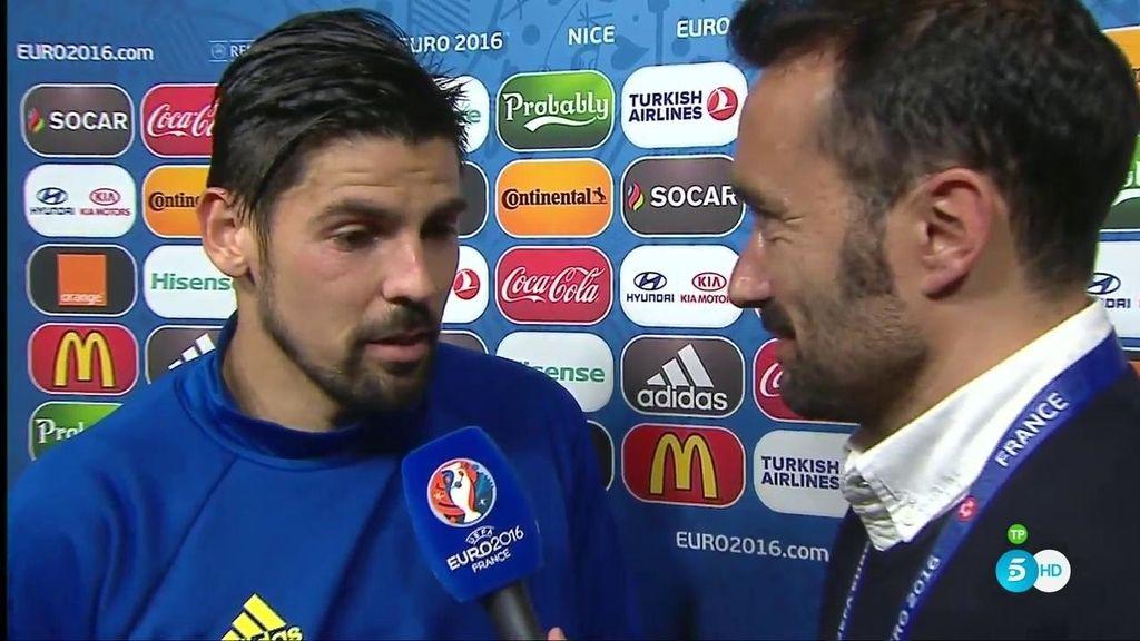 """Nolito, sobre su celebración con Casillas: """"Me mete un poco caña pero me trata muy bien"""""""