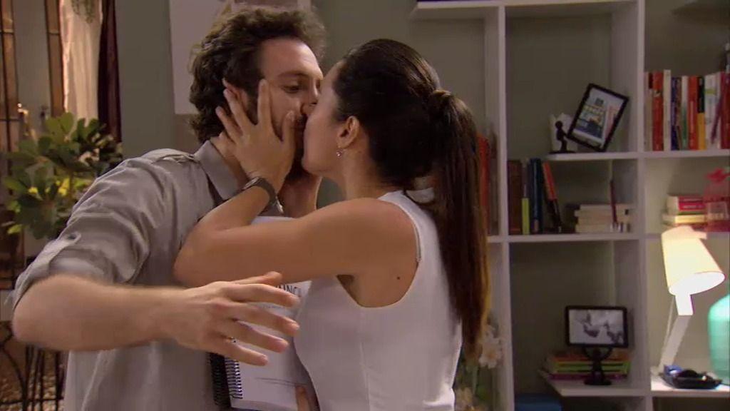 ¡Marga besa a Sergio!