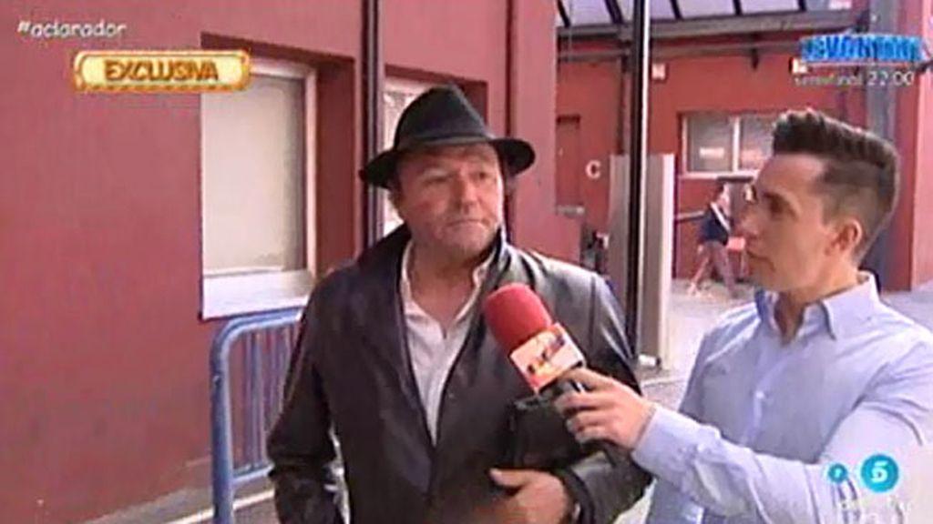 """Amador, sobre el coche de Rosa: """"Que se lo hubiese traído ella a Madrid"""""""