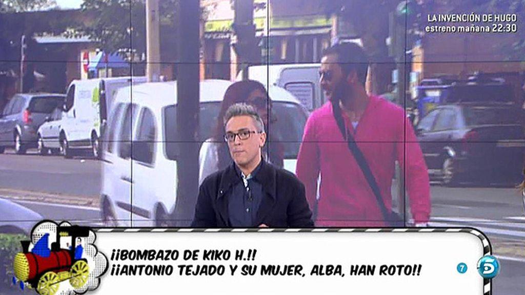 """Kiko H.: """"Antonio Tejado ya podría haber rehecho su vida con otra persona"""""""