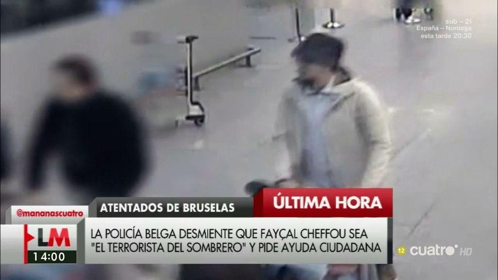 """La policía desmiente que Fayçal Cheffou sea """"el terrorista del sombrero"""""""