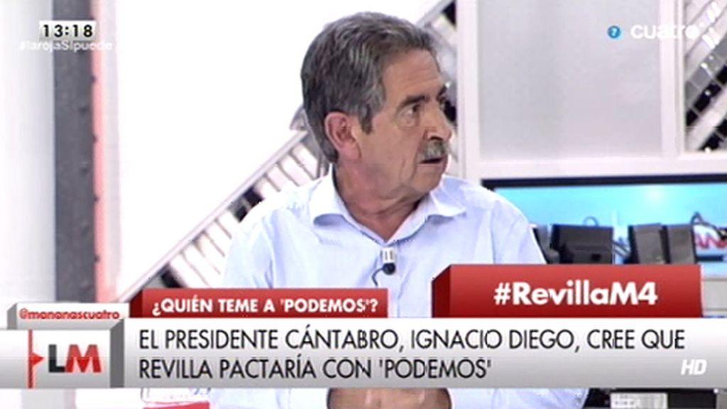 Revilla votó en las europeas a Elpidio Silva