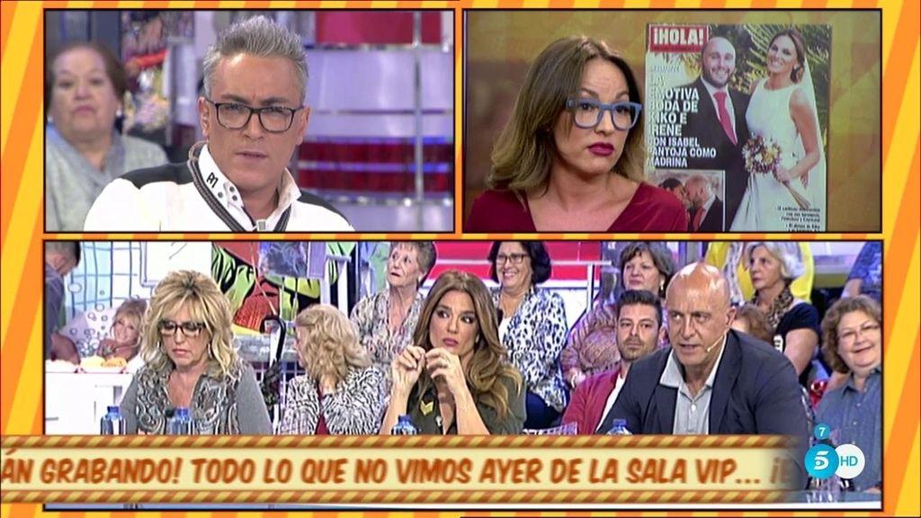 "Tamara García, de la boda de Kiko e Irene: ""Las fotos me parecen frías"""