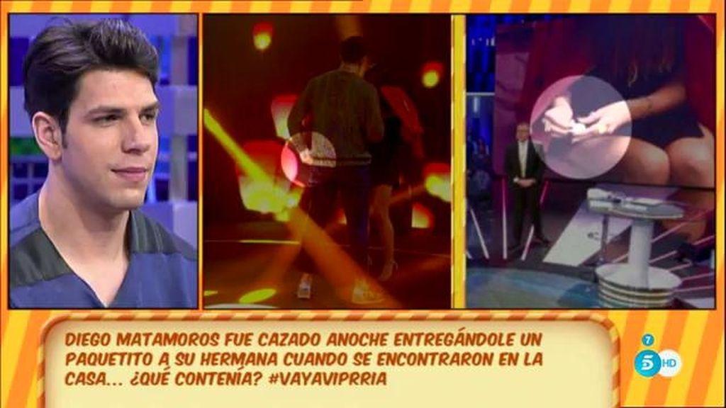 Diego Matamoros explica qué le dio a su hermana Laura en 'GH VIP'