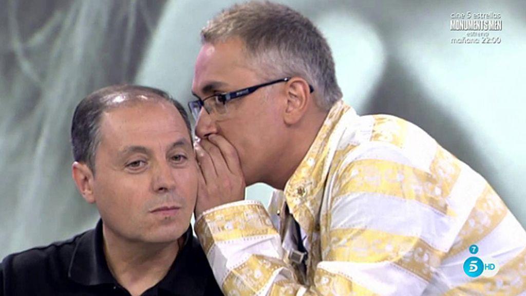 Jesús Atahonero descubre el nombre del colaborador con el que pudo estar Hormigos