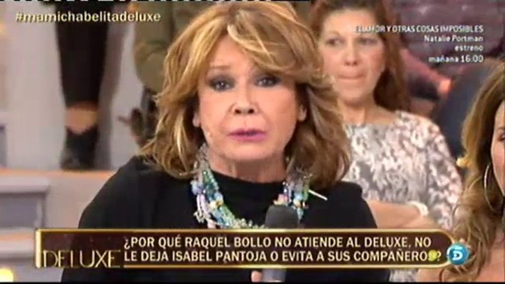 Raquel Bollo se niega a atender al 'Deluxe'