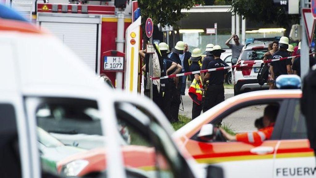 Confusión y caos tras un tiroteo en un centro comercial de Múnich