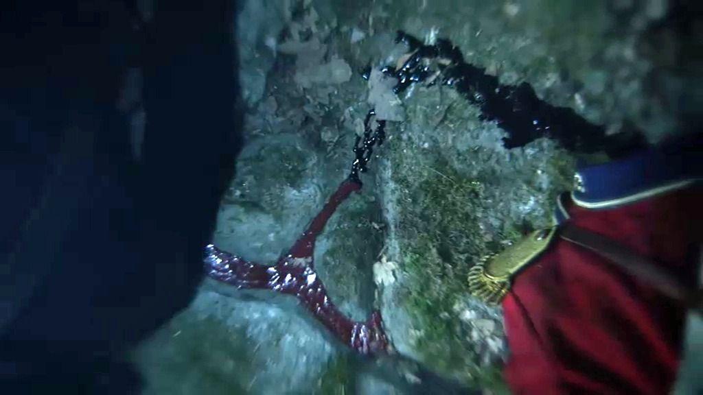 Ichabod rompe el vínculo de sangre que le une al jinete