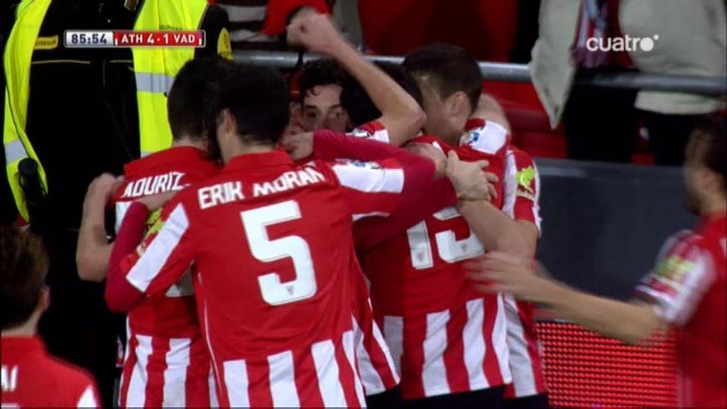 Gol de Herrera (Athletic 4-1 Valladolid)