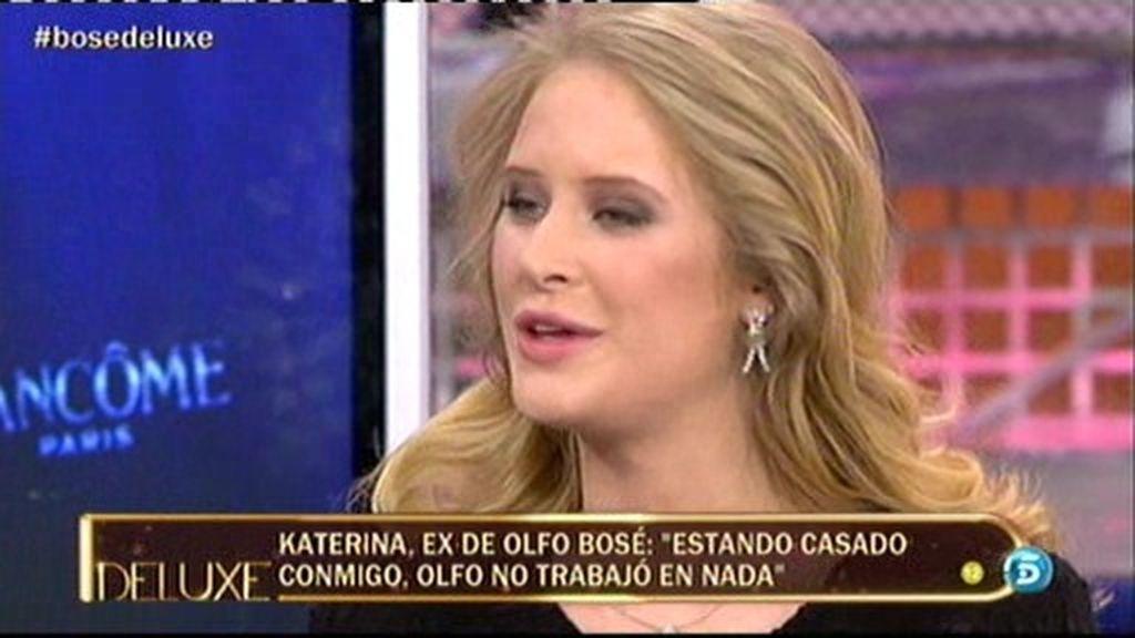 """Katrina: """"Olfo vivió de mi madre durante todo el tiempo que duró nuestro matrimonio"""""""