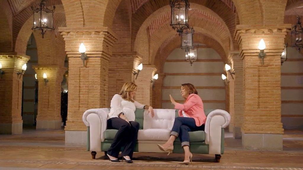 """Susana Díaz: """"Tengo más puntos de encuentra con Albert Rivera que con Iglesias"""""""