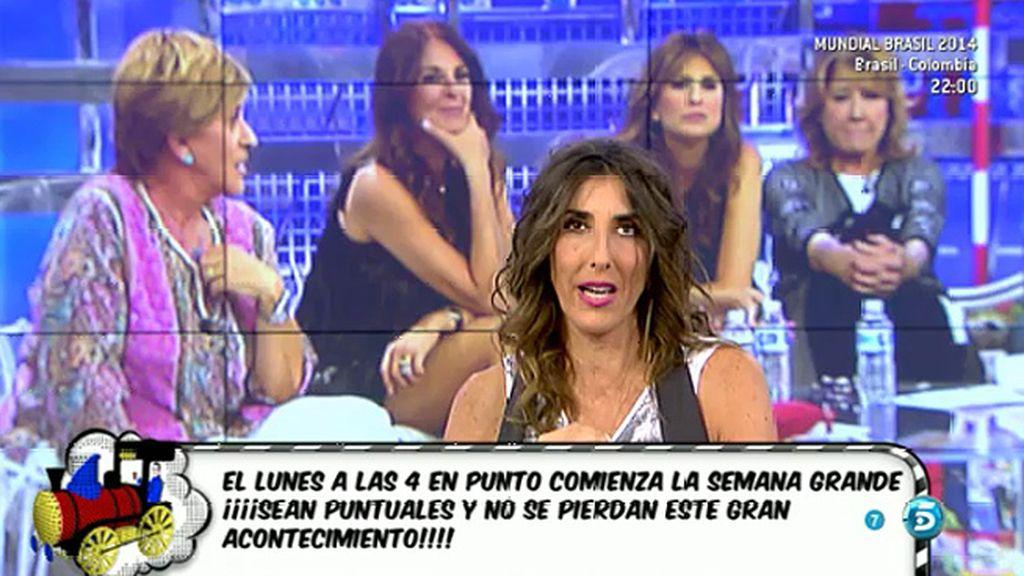 """Paz Padilla, sobre el quinto aniversario de 'Sálvame': """"Vamos a reír y a llorar"""""""
