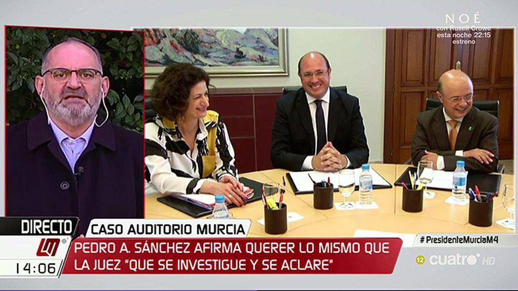 """Antón Losada, de Pedro Antonio Sánchez: """"El pacto anticorrupción es un paripé"""""""