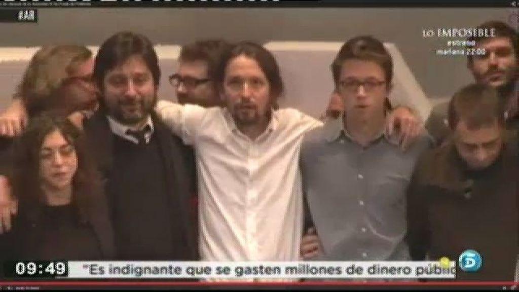 """Pablo Iglesias: """"Cuando hayamos vencido comenzarán las verdaderas dificultades"""""""