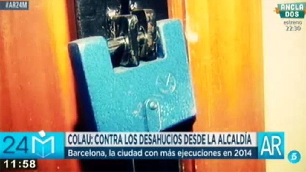 Cataluña, encabeza las comunidades con más desahucios en 2014