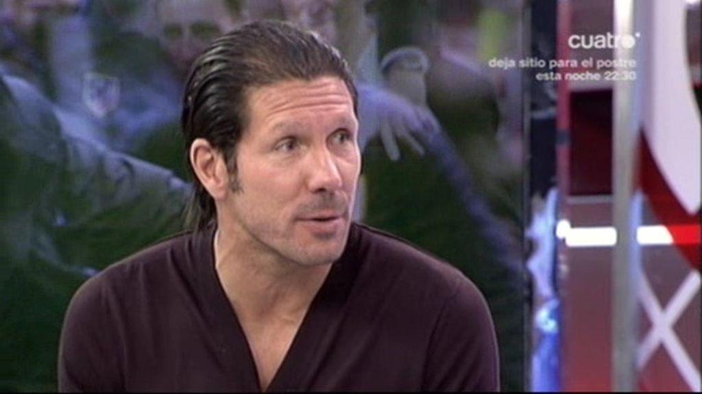 La entrevista completa del 'Cholo' Simeone en Los Manolos