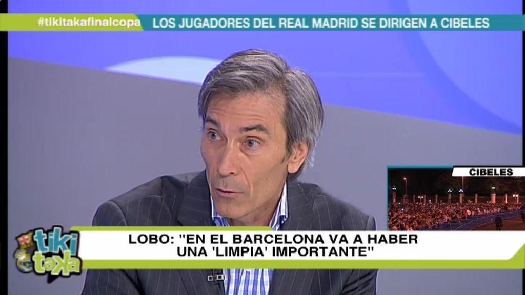 """'Lobo' Carrasco: """"Tiene que haber una limpia importante en el Barça"""""""