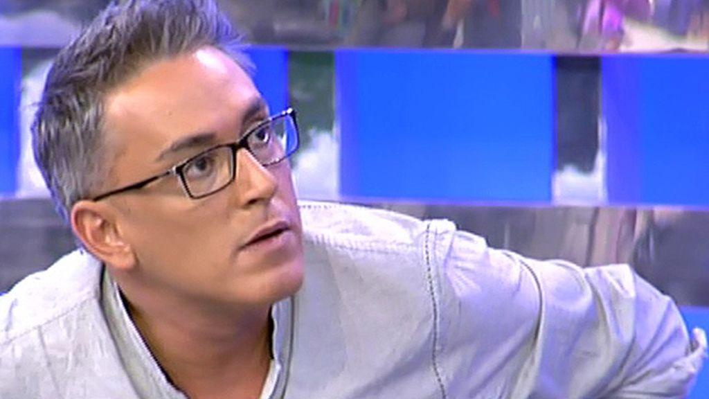 """Kiko Hernández, a Chabelita: """"Mientes, y lo sé por tu propia boca"""""""