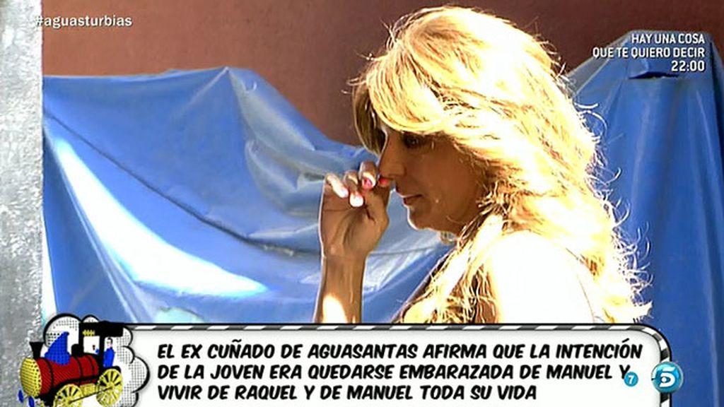 """El excuñado de Aguasantas: """"Quería quedarse embarazada y hacer programas"""""""