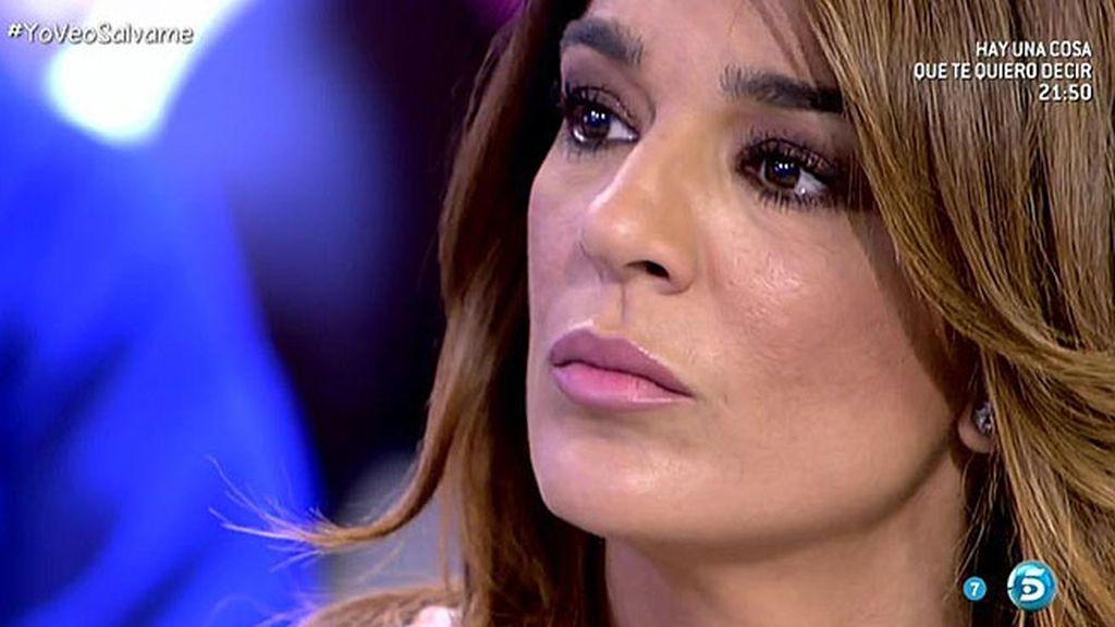 """Belén Esteban se enfada con Aguasantas y le grita: """"¡Qué razón tenía Raquel Bollo!"""""""
