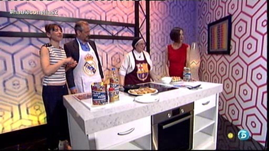 Sor Lucía, la monja del BarÇa, nos enseña su receta secreta de torrijas