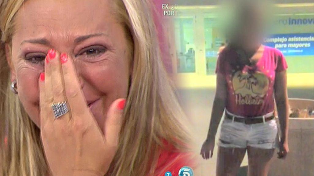 """Andrea sorprende a Belén Esteban: """"Eres la mejor madre del mundo"""""""