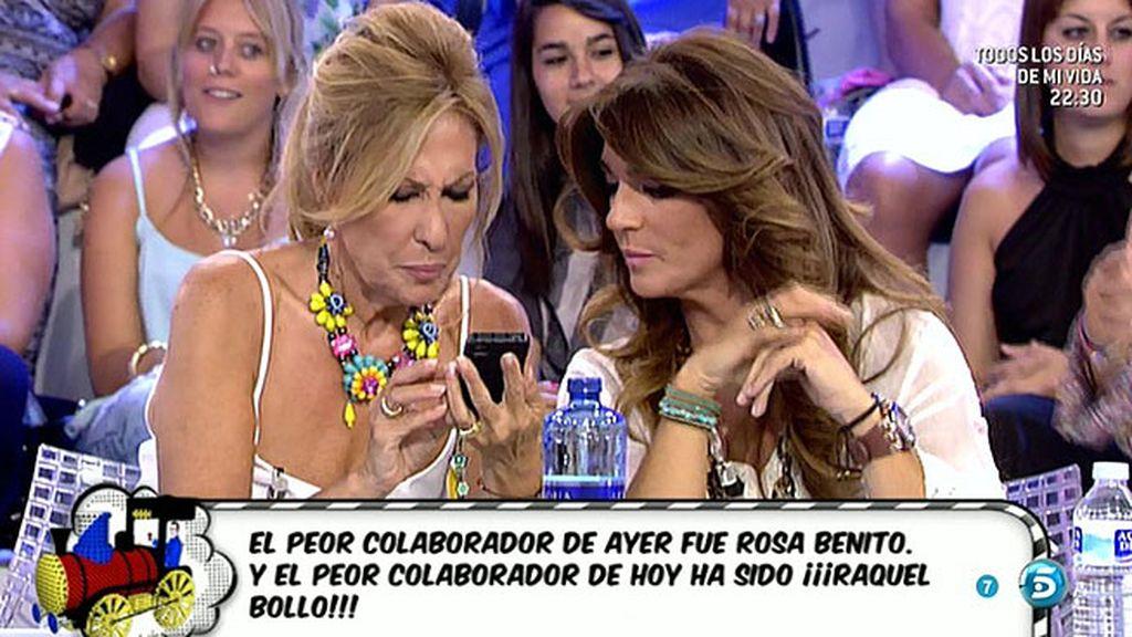 ¡Rosa Benito y Raquel Bollo, las peores colaboradoras del martes y el miércoles!