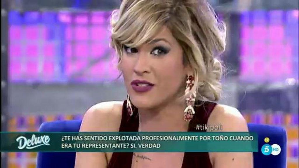 El polígrafo confirma que Ylenia se ha sentido explotada profesionalmente por Toño Sanchís