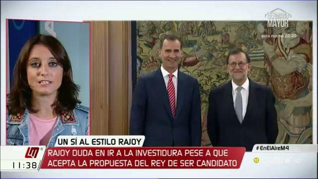 """Andrea Levy: """"El PP asume su responsabilidad de gobernar y el resto, ¿quiere gobierno o que haya elecciones?"""""""