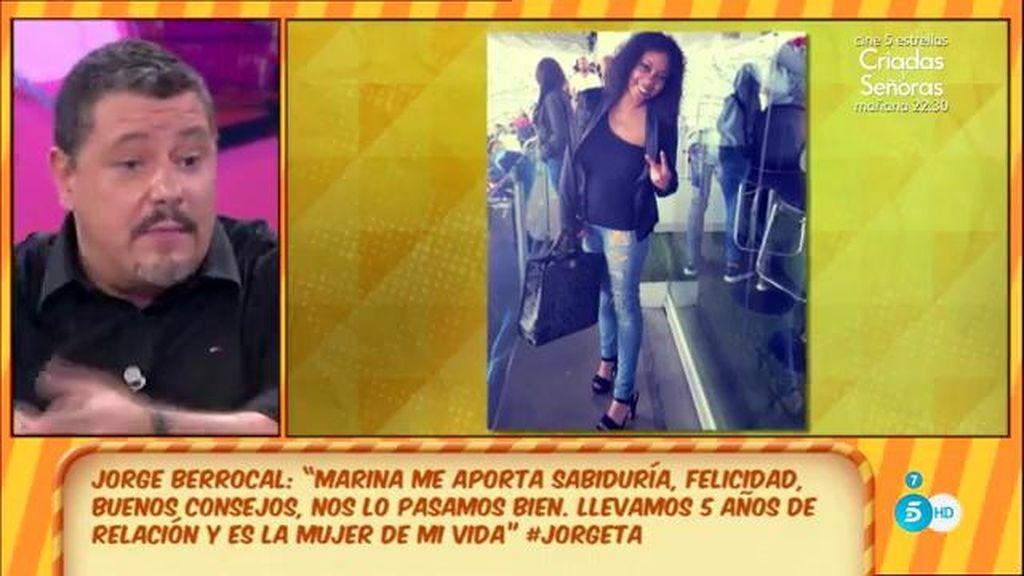 Jorge Berrocal ('GH 1') se casa 'de verdad' con una chica 13 años más joven