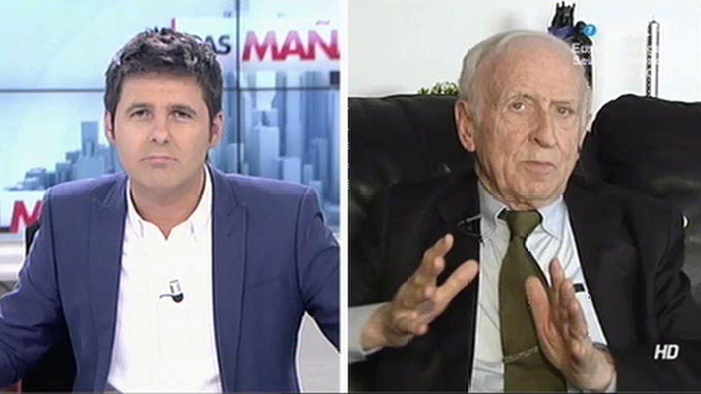 """Abadía: """"Un millón de tíos con boina que le digan no a Botín se cargan el Santander"""""""