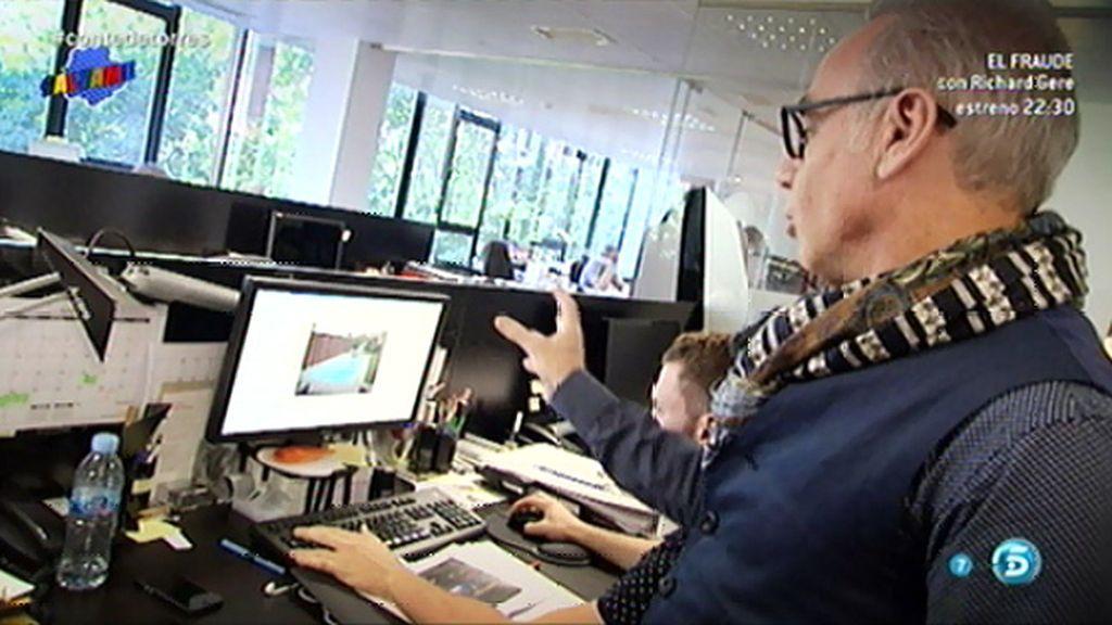 Joaquín Torres nos muestra cómo es el día a día en su estudio