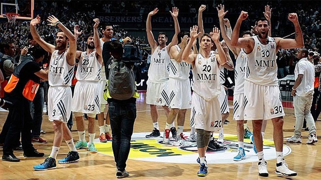 Así ha llegado el Madrid a la Final Four