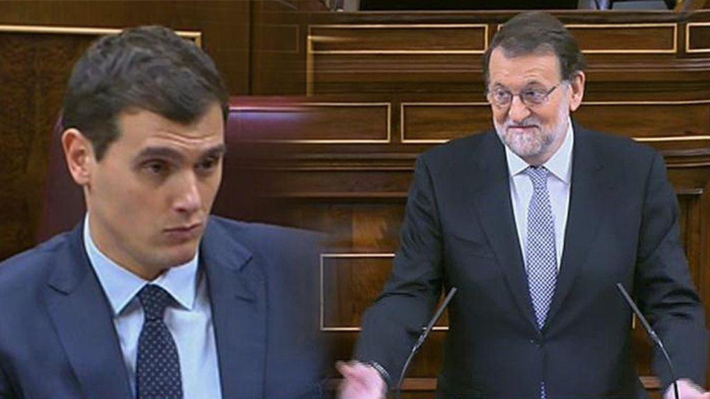 """Rajoy, a Rivera: """"El PP no ha ganado las elecciones para que Sánchez sea presidente"""""""
