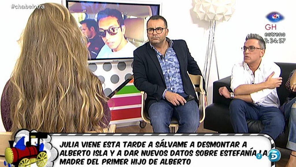 """Julia: """"Alberto me dijo que creía que Chabelita y Estefanía se unirían contra él"""""""