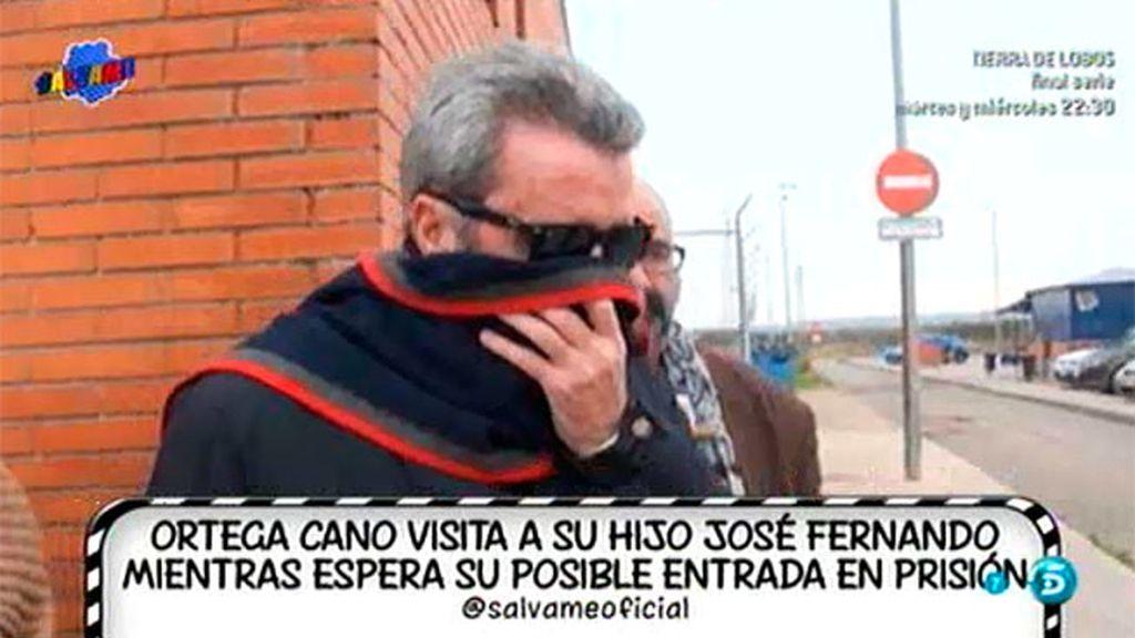 Ortega Cano visita a José Fernando