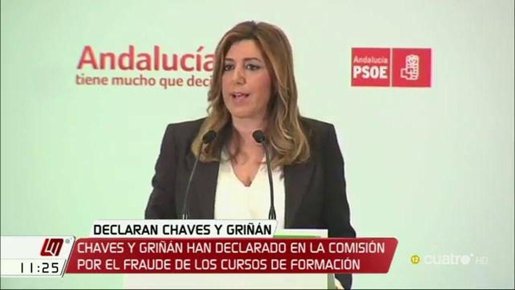 Susana Díaz comparecerá ante la comisión de investigación por el caso de los ERE